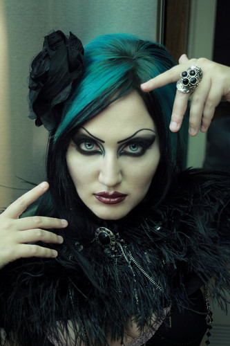 klaryssa korolenkov chamber of echoes 2010 spooky ティール goth bubblegoth