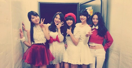 के पॉप 94 line..(Fx Sulli and Krystal with Kara Jiyoung,Miss A Suzy,4minute Sohyun)
