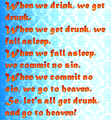 let's all get drunk - quotes photo