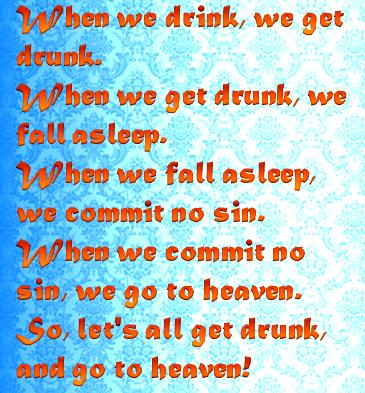 let's all get drunk