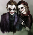 madlove - the-joker-and-harley-quinn fan art