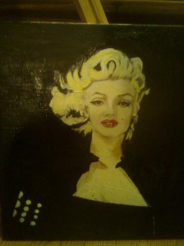 marilyn 1 black n white