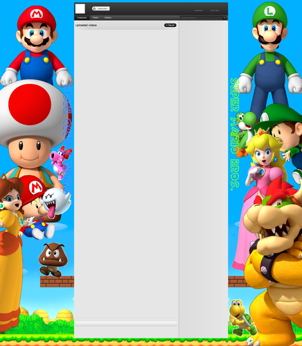 mario youtube layout