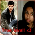 me and my love....taylor - taylor-lautner fan art