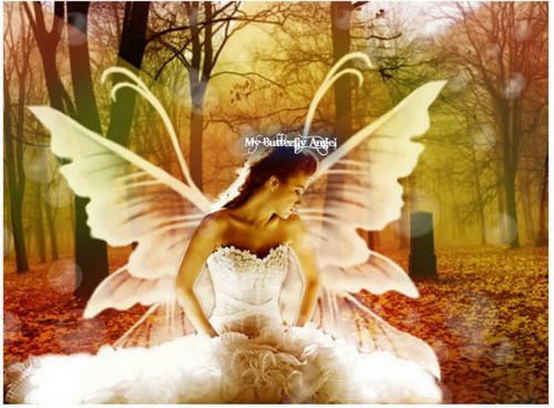 my तितली एंजल