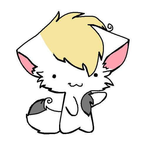ninago Zayne chibi kitty