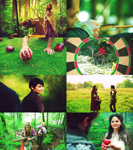 once upon a time + green