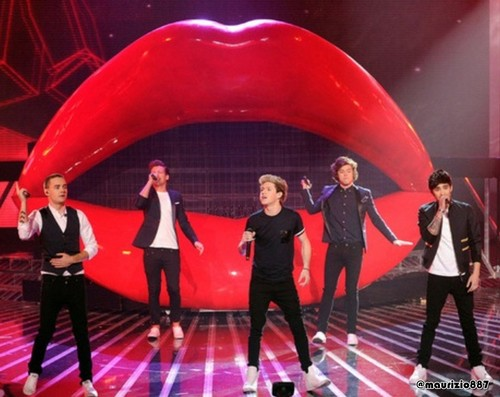 one direction,The X Factor, 2012