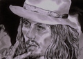 pencil work of Johnny Depp - johnny-depp fan art