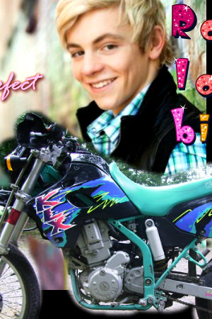 Ross Lynch fond d'écran probably containing a motorcycle cop and a motocycliste called ross lynch is perfect