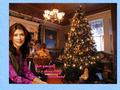 shiny little Christmas (snowflake frame) - firefly wallpaper
