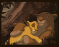 simba and sarabi - the-lion-king photo