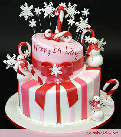 Christmas Birthday Image.Snowman Birthday Cake Christmas Photo 33141394 Fanpop