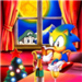 sonic and weegee - sonic-the-hedgehog icon