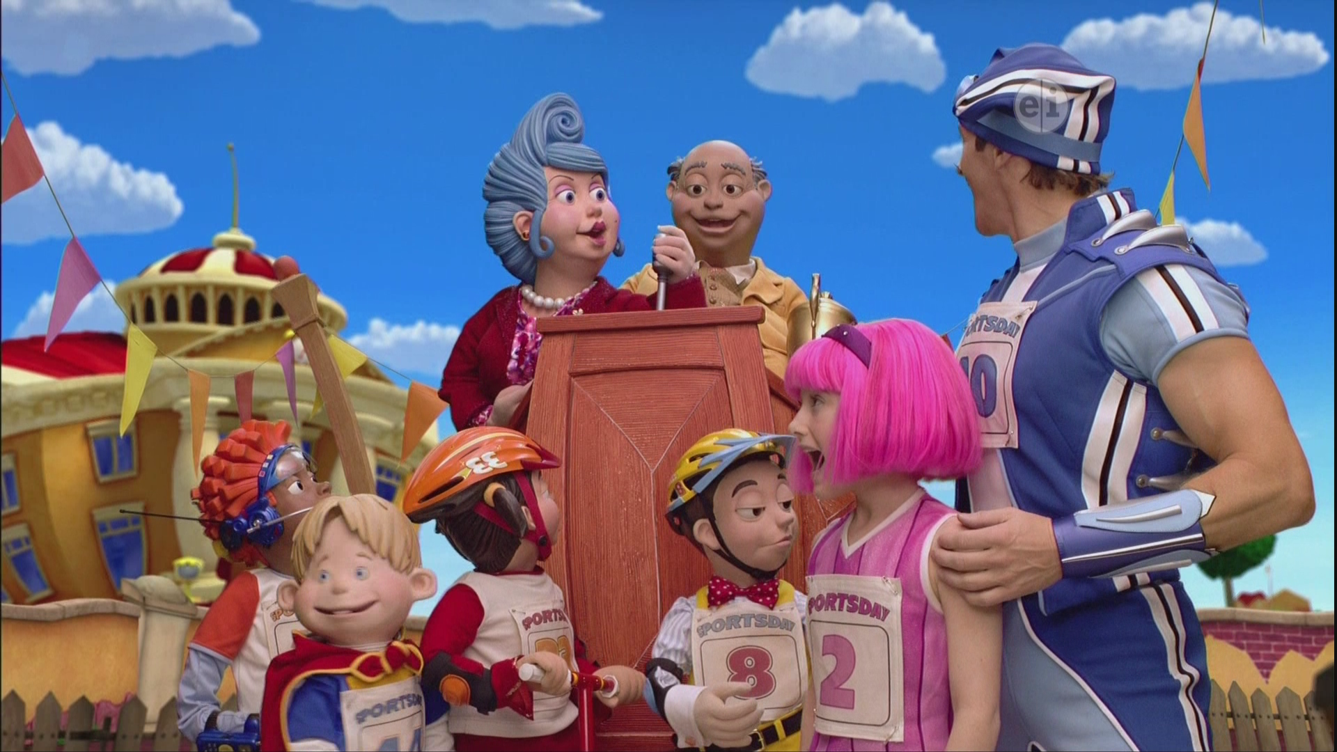 Lazy town sports day 900 x 675 103 kb jpeg lazy town stephanie 1024