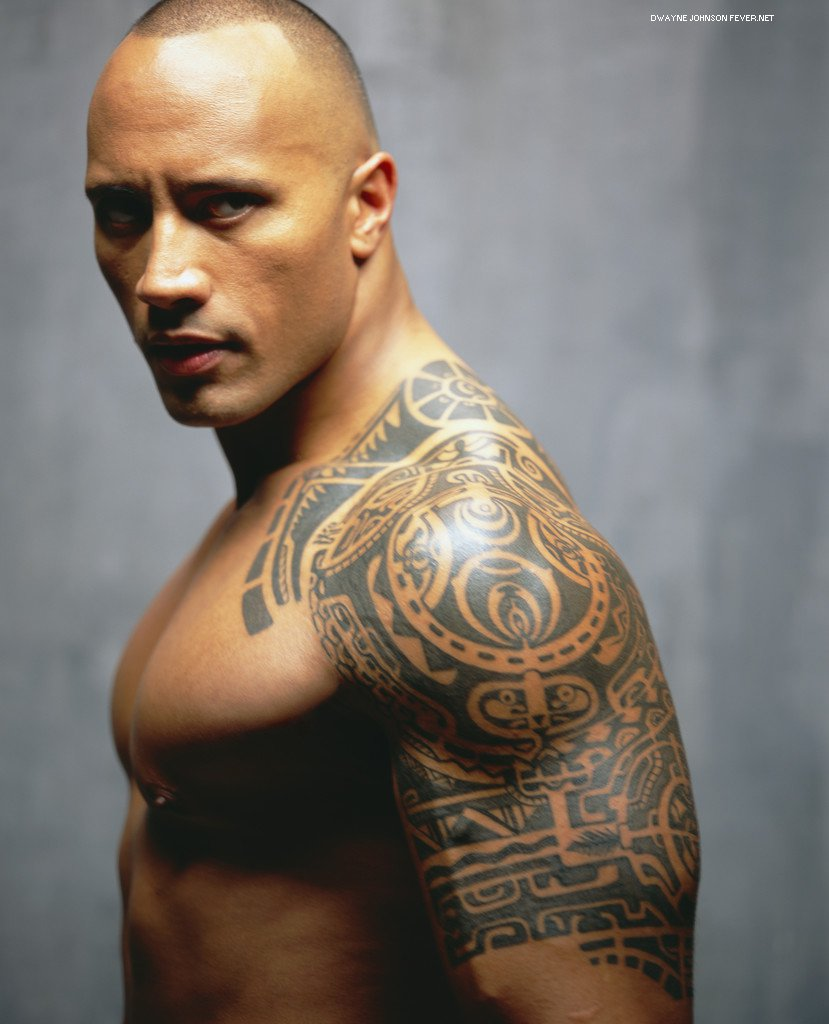 "Dwayne ""The Rock"" Johnson the rock"