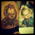 this is how much i love chucky. - chucky-the-killer-doll fan art