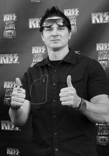 Zak Bagans wallpaper possibly containing a sign titled zak