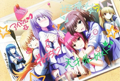 [Angel Beats!] Girls Dead Monster.