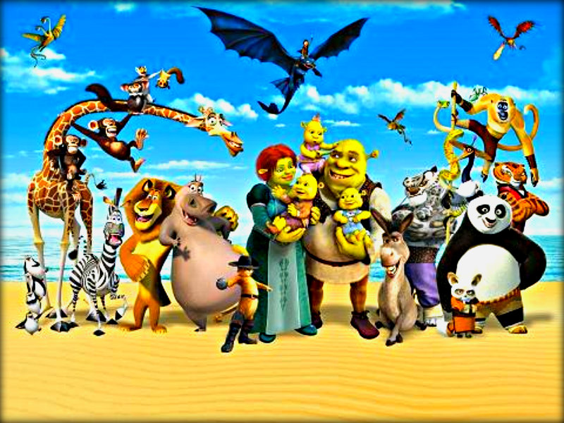 Dreamworks animation images dreamworks hd wallpaper for Wallpaper home animation