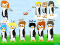 (From my fanfic. :3) Some of the supporting characters. :D - fans-of-pom photo