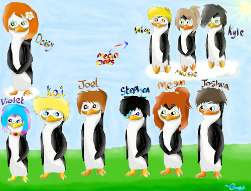 (From my fanfic. :3) Some of the supporting characters. :D