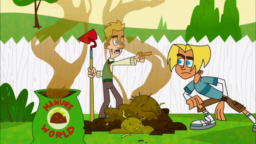 "Johnny Test wallpaper called ""Go home, Gil..."""