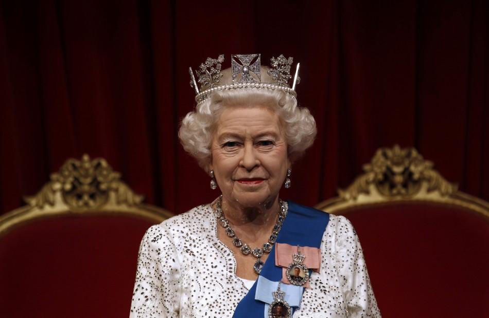 কুইন Elizabeth II _madame tussauds