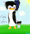 (Remake) Emma and her future daughter, Willow. :3 - emma-the-penguin photo