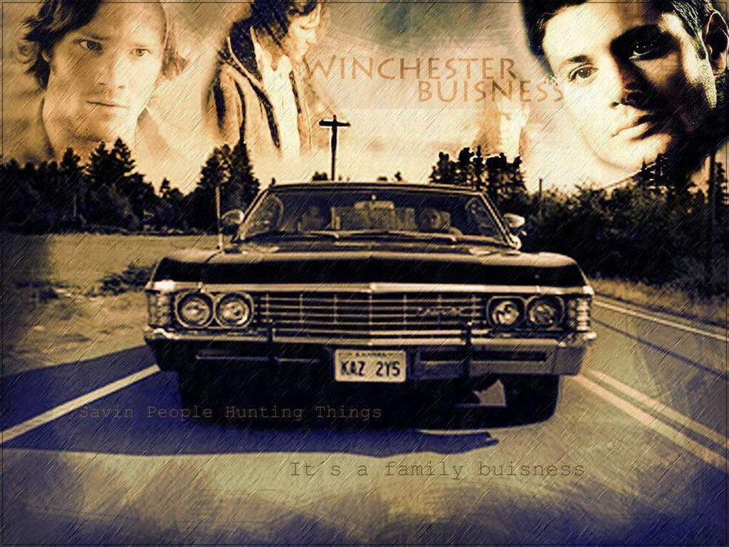supernatural car impala wallpaper - photo #38