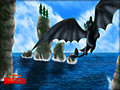 ★ Toothless ☆  - toothless-the-dragon wallpaper