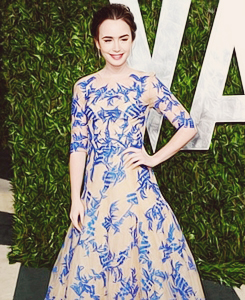 ♔ lily collins..