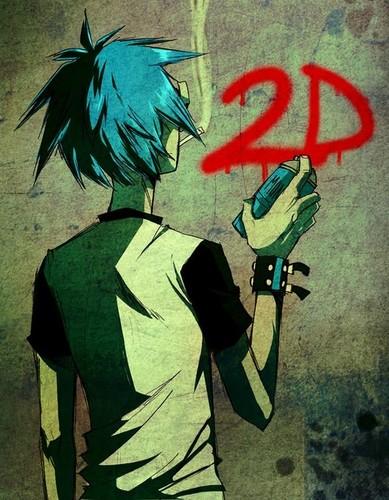 2-D grafity