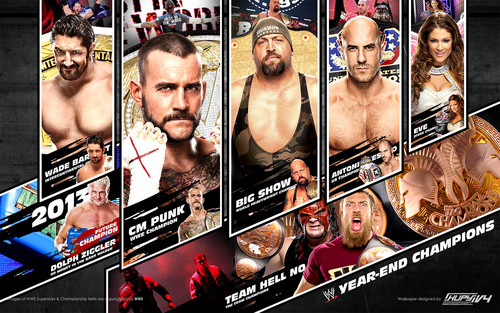 2012 ano End wwe Champions