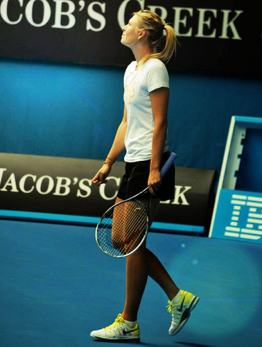 Maria Sharapova wallpaper with a tennis racket, a tennis player, and a tennis pro called 2013