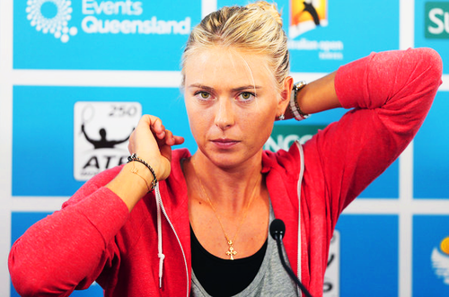 Maria Sharapova kertas dinding possibly with a portrait called 2013