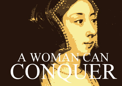 A woman can conquer