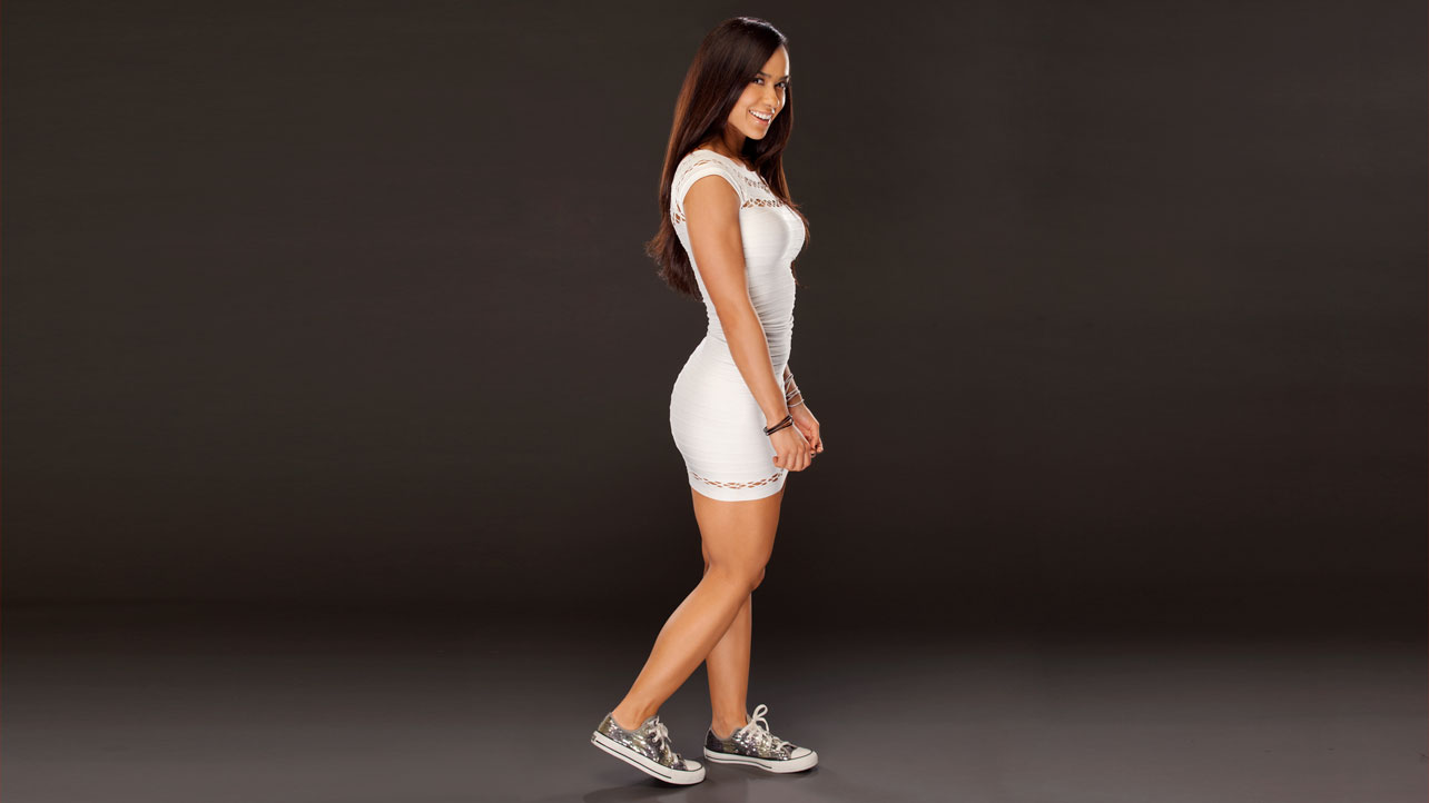 WWE AJ Lee Bikini