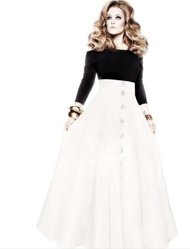 AMICA Jan. 2013 - Lisa Marie Presley