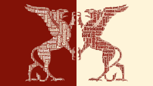 ASOIAF Word Cloud - Jon Connington