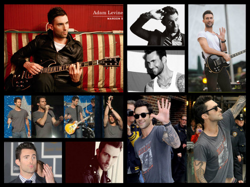 Adam Levine wallpaper possibly containing anime entitled Adam Levine <3
