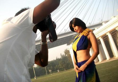 Aiysha Saagar Photo shoot in Kolkata