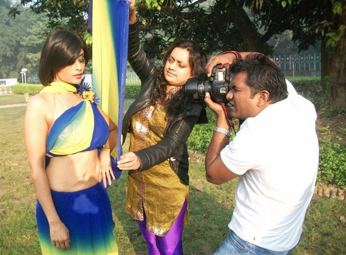 Aiysha Saagar 사진 shoot in Kolkata