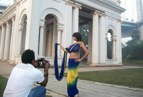 Aiysha Saagar चित्र shoot in Kolkata