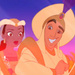 Aladdin/Tiana Icons! - disney-crossover icon