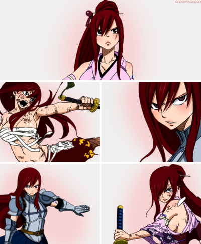 Erza Scarlet wallpaper with animê called All that I have of Erza