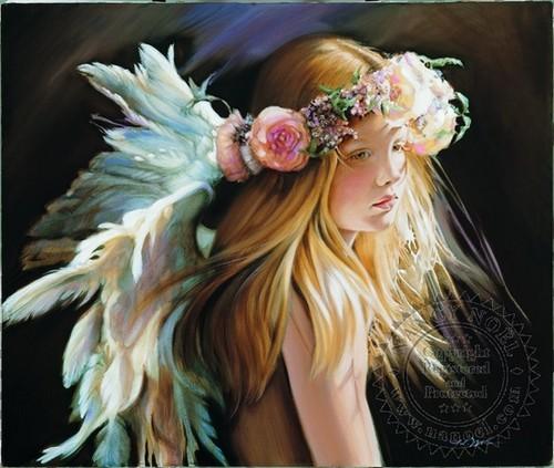Angelic Rosebud