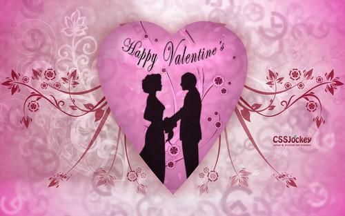 Anime couple Valentine's giorno