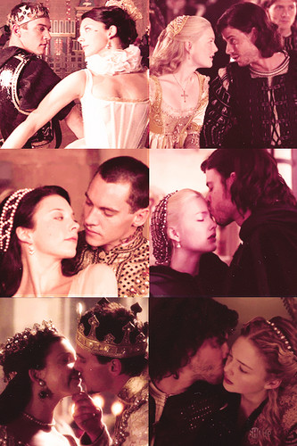 Anne/Henry and Cesare/Lucrezia
