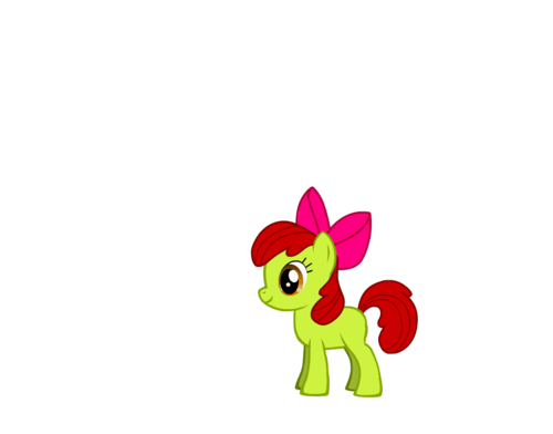 my little pony friendship is magic oc wallpaper titled apel, apple Bloom